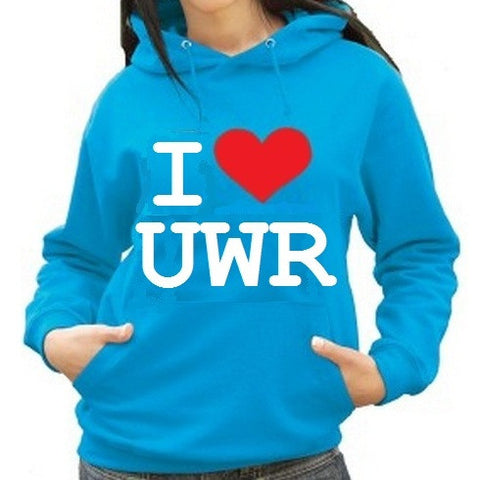Waterpoloshop - H2OTOGS I Love UWR - Unisex Hoodie - Various Colours
