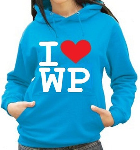 Waterpoloshop - H2OTOGS I Love Water Polo Unisex Hoodie - Various Colours