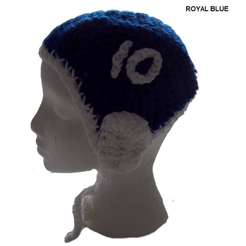 Royal Blue - H2OTOGS Customised - Water Polo Crocheted / Knitted Babies Cap / Hat