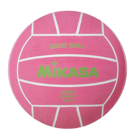 MIKASA - Mens Water Polo Ball - W5509 Pink - Size 4