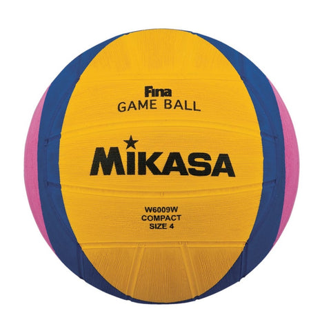 MIKASA - Womens Water Polo Ball - W6009W - Size 4