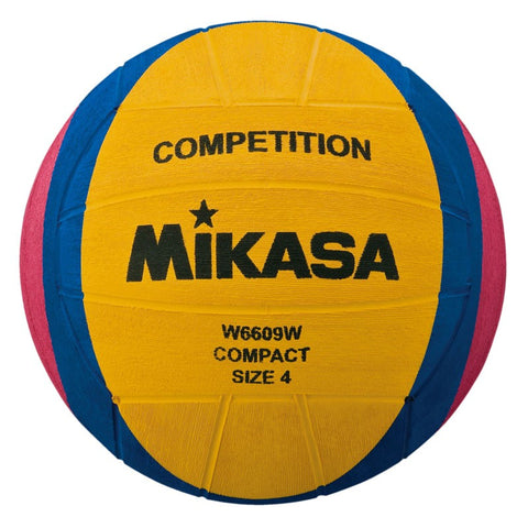 MIKASA Competition & Training - Womens Water Polo Ball - W6609W - Size 4