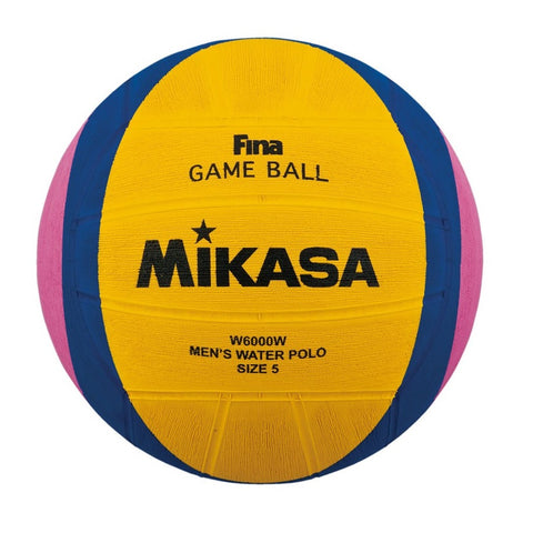 MIKASA - Mens Water Polo Ball - W6000W - Size 5