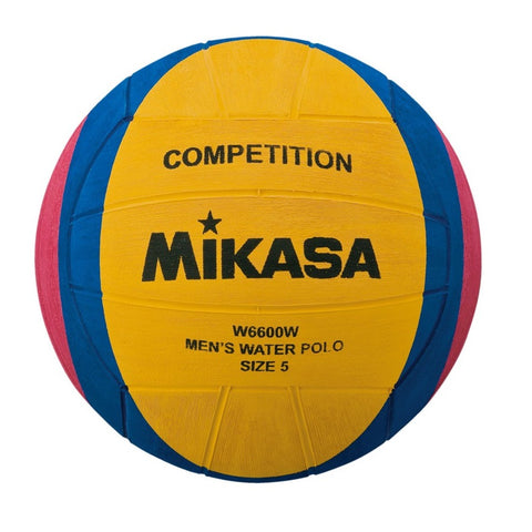 MIKASA Competition & Training - Mens Water Polo Ball - W6600W - Size 5