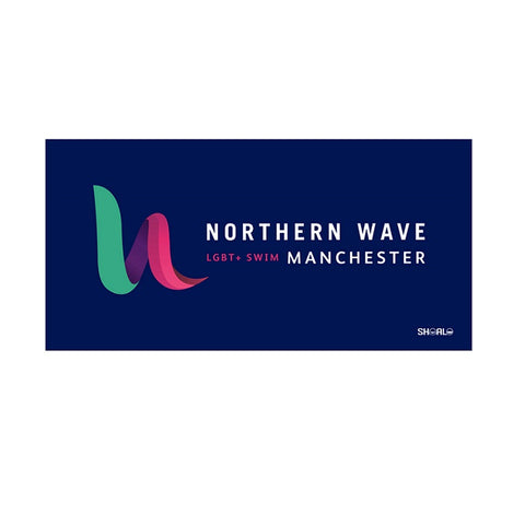 SHOALO Customised - Northern Wave Beach Towel