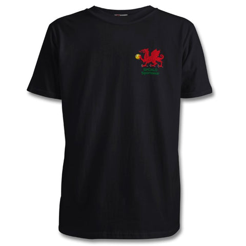 SHOALO Welsh / Wales Dragon - PERSONALISED Children's T-Shirt / Tee