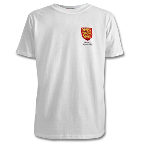 SHOALO England 3 Lions - PERSONALISED Children's T-Shirt / Tee