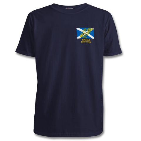 SHOALO Scotland - Golden Eagle - PERSONALISED Children's T-Shirt / Tee