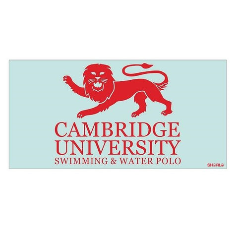 SHOALO Customised Cambridge Uni (Water Polo / Swim Team) Beach Towel