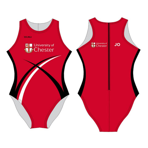 SHOALO Customised - Chester Uni Womens Water Polo Suits