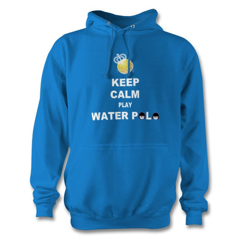 SHOALO Keep Calm Play Water Polo - Unisex Hoodie / Hoody - VARIOUS COLOURS