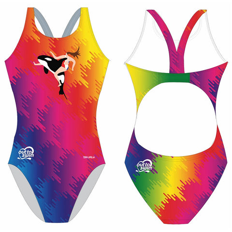 SHOALO Customised - London Orca Womens Bladeback Swimsuits