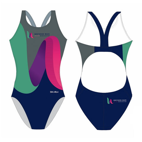 SHOALO Customised - Northern Wave Womens Bladeback Suits