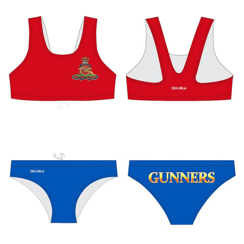 SHOALO Customised - Royal-Artillery (Gunners) Womens Tank Bikini Suits / Tankini