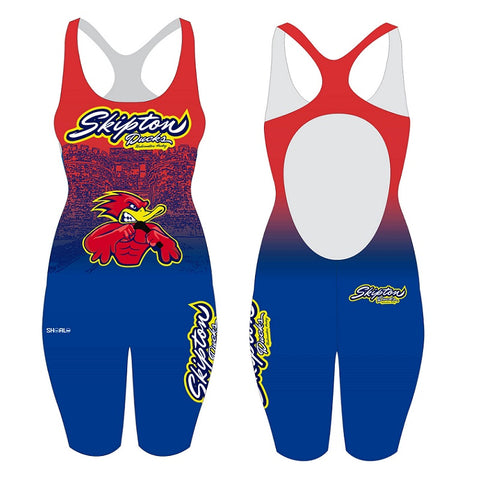 SHOALO Customised - Skipton Ducks Olympicback Kneeskin Suit