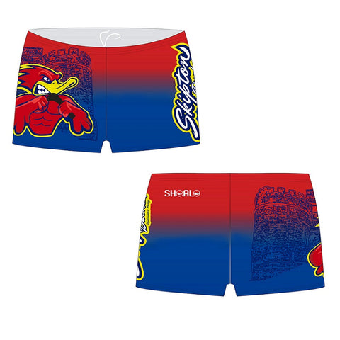 SHOALO Customised - Skipton Ducks Mens BOXER Aquashorts (M24)