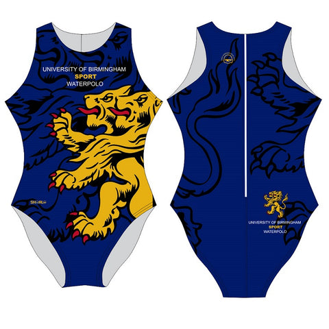 SHOALO Customised - Birmingham Uni Womens Water Polo Suits