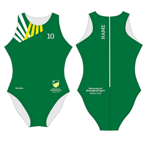 SHOALO Customised - Nottingham Uni Womens Zip Back Swimsuits