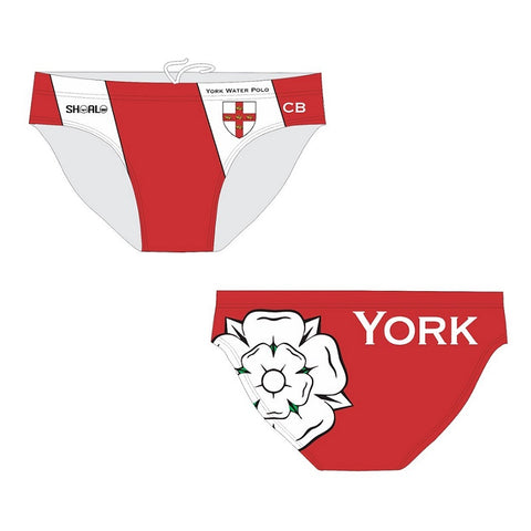 SHOALO Customised - City Of York Mens Water Polo Suits