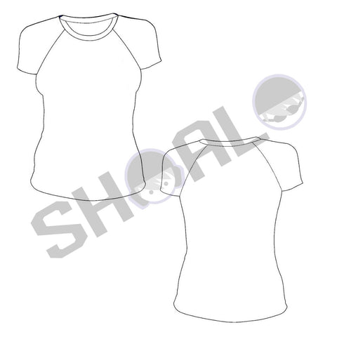 SHOALO Custom Design - Female MESH Sublimation T-Shirt