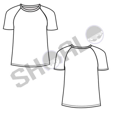 SHOALO Custom Design - Unisex MESH Sublimation T-Shirt