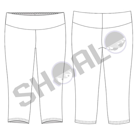 SHOALO Custom Design - 3/4 Length - Cropped / Crop / Capri - Tights / Leggings