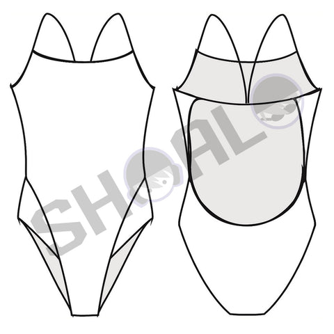 SHOALO Custom Design - Womens W33 Lightback Swimsuit