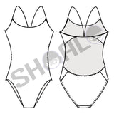 SHOALO Custom Design - Womens W3 Openback Swimsuit