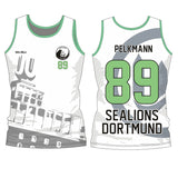 SHOALO Customised - Sealions Unisex (Olym) Vest / Singlet