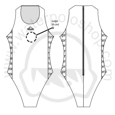 TURBO Customised COMFORT ELITE - Womens Water Polo Swimming Suits