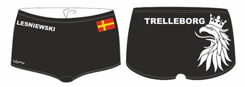 H2OTOGS Customised - Trelleborg UWR Mens Aquashorts (M25) + NAME