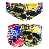 TURBO Skull Hibiscus - 730567-0006 - Mens Suit - Water Polo