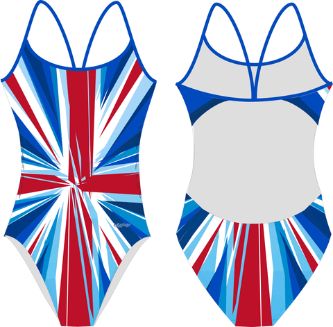 Waterpoloshop - H2OTOGS GBR - UK - GB - Womens Openback Suits