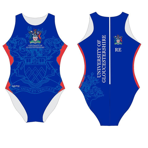 H2OTOGS Customised - Gloucestershire Uni Womens Water Polo Suits