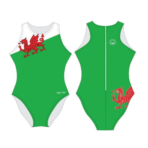 Waterpoloshop - H2OTOGS Customised Welsh Wanderers Womens Water Polo Suits