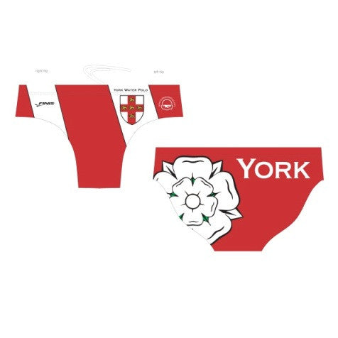 Waterpoloshop - FINIS Customised - City of York Mens Water Polo Suits