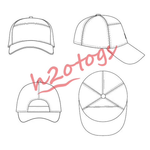 H2OTOGS Custom Design - Baseball Cap