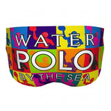 DELFINA Pop Art Water Polo By The Sea - Mens Suit - Water Polo - Back