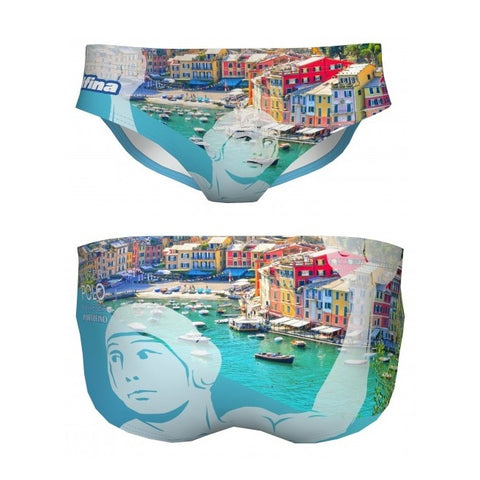 DELFINA Portofino - Mens Suit - Water Polo
