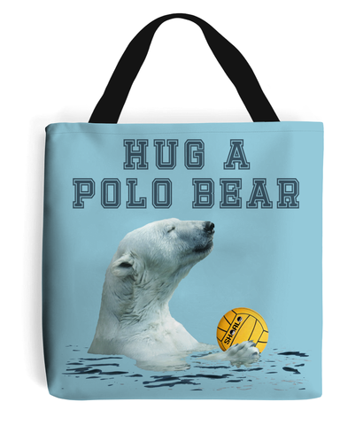 SHOALO Hug A Polo Bear - Tote Bag