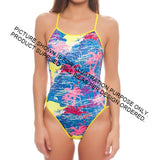 Thin Strap Womens Swimsuit - Front