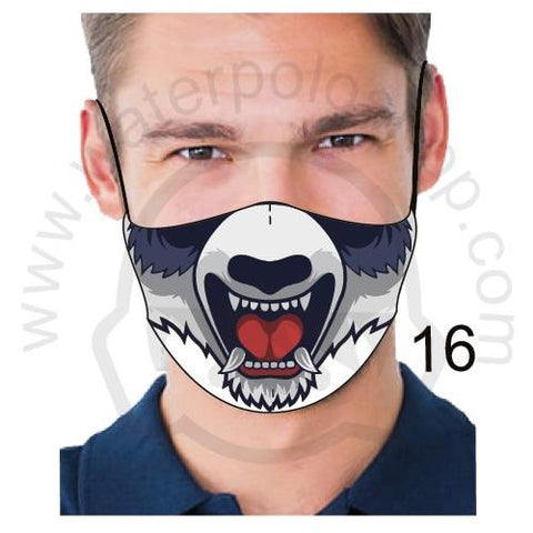 Face Mask - Reuseable / Washable Fabric With Filter Pocket (16) - Mad Dog