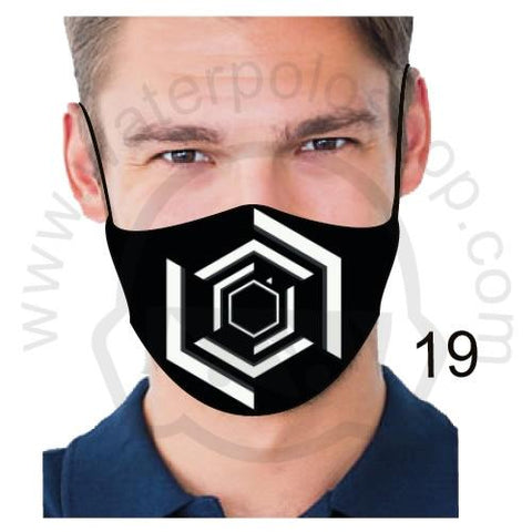 Face Mask - Reuseable / Washable Fabric With Filter Pocket (19) - Aperture