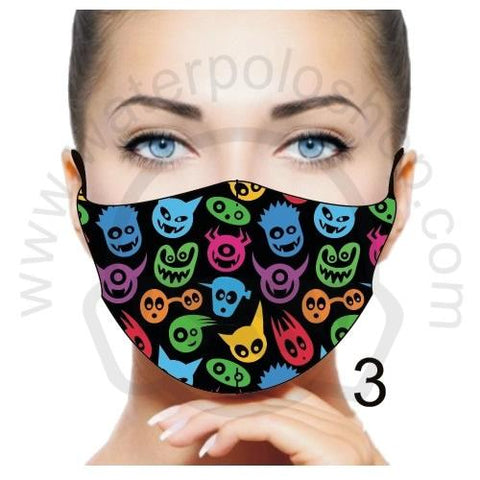 Face Mask - Reuseable / Washable Fabric With Filter Pocket (3) - Devils