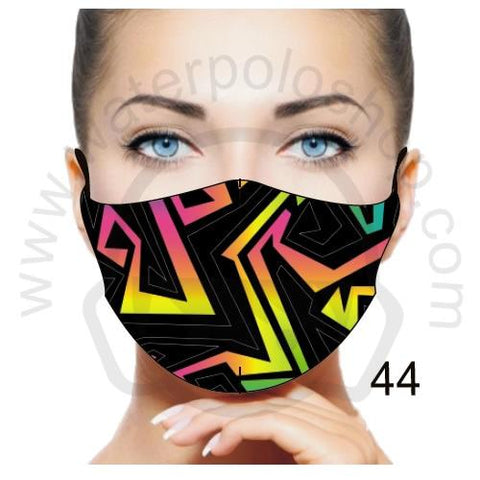 Face Mask - Reuseable / Washable Fabric With Filter Pocket (44) - Maze