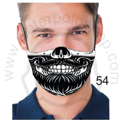 Face Mask - Reuseable / Washable Fabric With Filter Pocket (54) - Smile