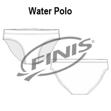 Waterpoloshop - FINIS Custom Made - Mens Water Polo Swimsuits