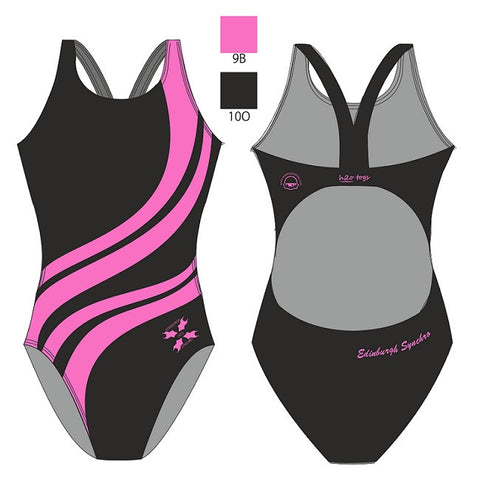 Waterpoloshop - H2OTOGS Customised - Edinburgh (Synchronised Swimming) Womens Bladeback Suits