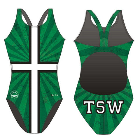 Waterpoloshop - H2OTOGS Customised - TSW Womens Bladeback Suits