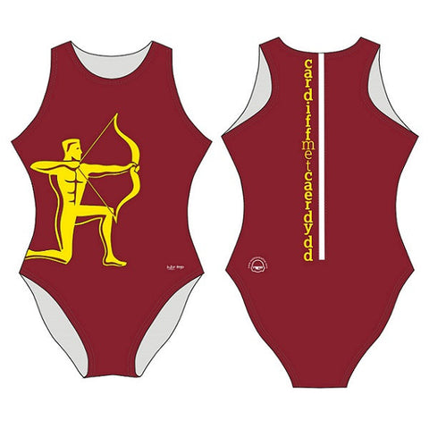Waterpoloshop - SHOALO Customised - Cardiff Met Womens Water Polo Suits